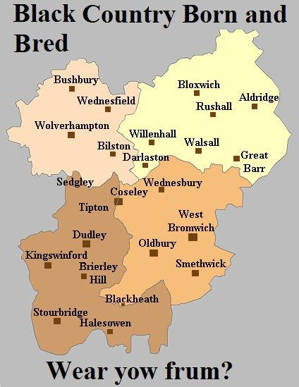 Black Country map